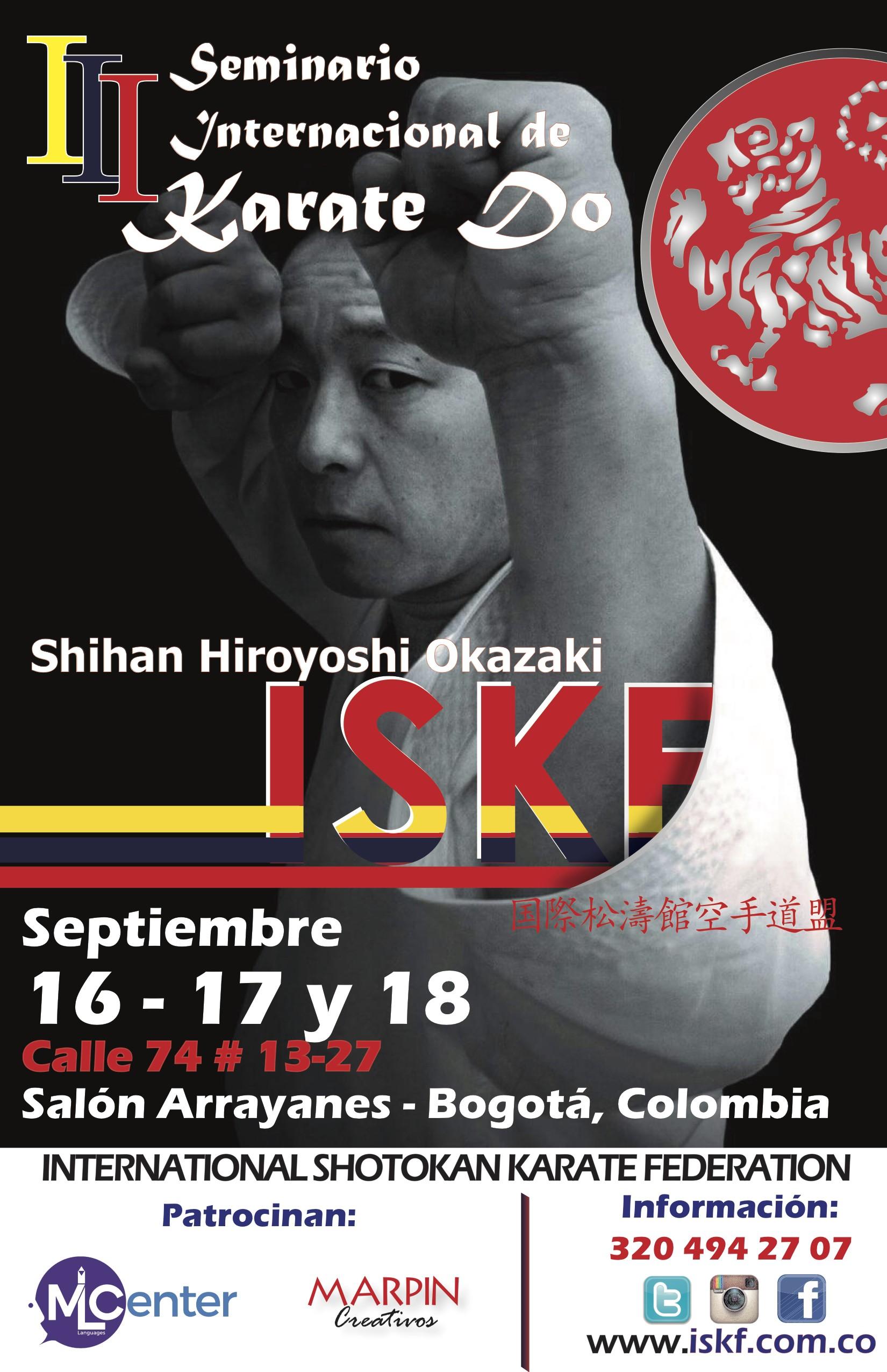 ISKF 2016 SEMINAR_COLOMBIA
