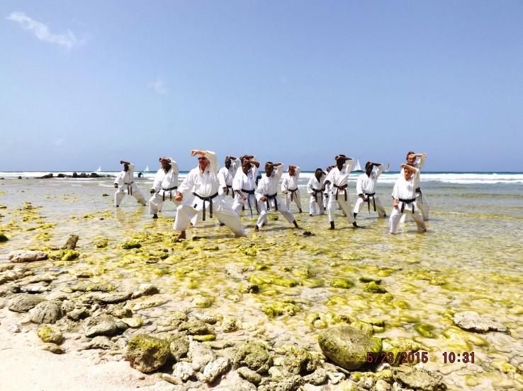 Barbados karate