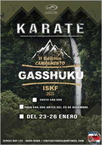 ISKF CR 2nd Camp, Gasshuku 2020 - January.23th - 26th, 2020